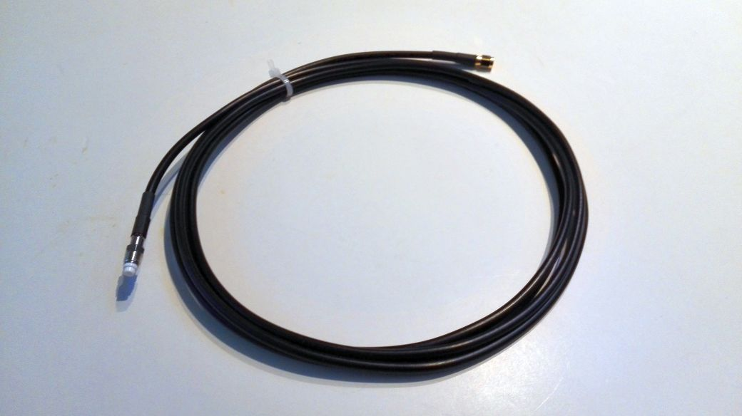 3m low loss cable with FMEf-SMAm
