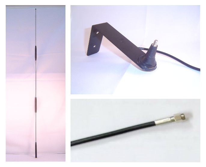 High gain omnidirectional 3G/4G antenna