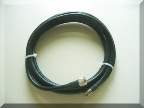 25 m Ultra-low loss cable, Nm-SMAm