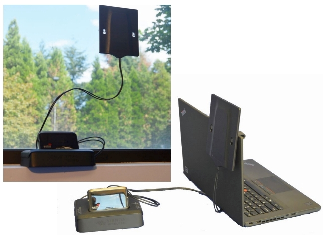 NEW: LTE antenna for window or laptop